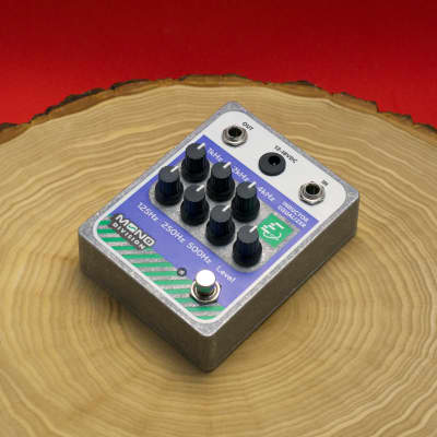 Mono Division Inductor Equalizer — Discrete 6 Band EQ Pedal — Shin-ei AF-17 Inspired