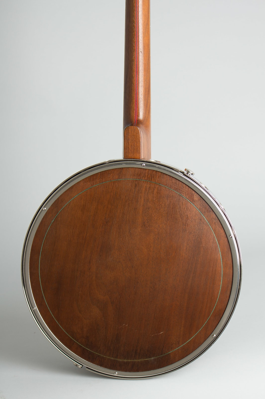 Lange  Challenger Plectrum Banjo,  c. 1930, ser. #359, original black hard shell case.
