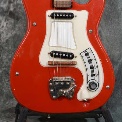 Hagstrom I 1 Model Dual Pickup Model Vintage 1960s Red w Case & FAST Same Day Shipping for sale