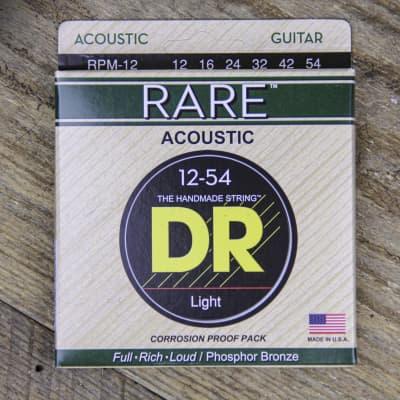 DR RPM-12 Rare Medium Acoustic Strings