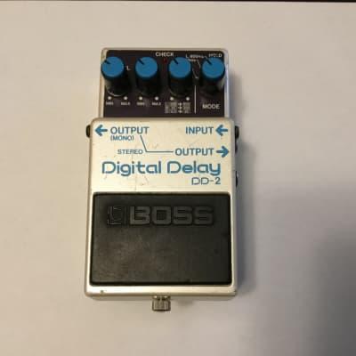Boss DD-2 Digital Delay (Blue Label) 1984