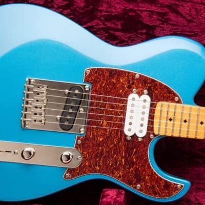 Dean Zelinsky Dellatera Z-Glide Standard Gun Hill Blue for sale
