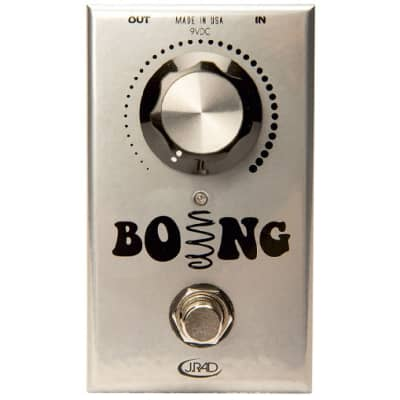 New J Rockett Audio Designs Boing Spring Reverb Guitar Effects Pedal for sale