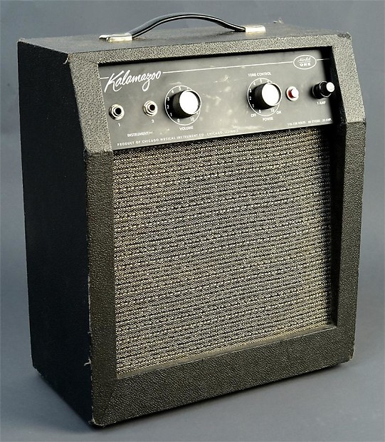 kalamazoo model 1 5 watt 1x10 guitar combo reverb. Black Bedroom Furniture Sets. Home Design Ideas