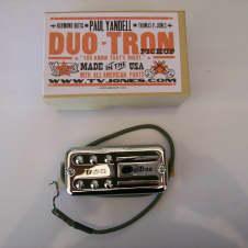 TV Jones Paul Yandell Duotron Neck Pickup Chrome