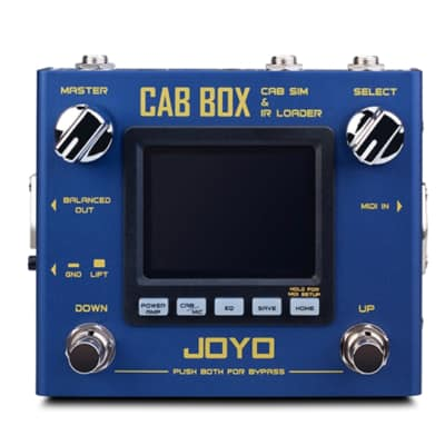 "Joyo R-08 ""CAB BOX"" CAB SIM-IR Loader Pre-Amp or Front Load Fast US Ship New! 2019"