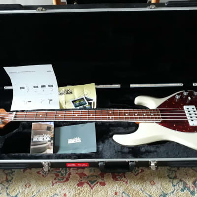 Music Man 30th Anniversary StingRay 5 H with Roasted Maple Neck Trans Buttercream 2017 for sale