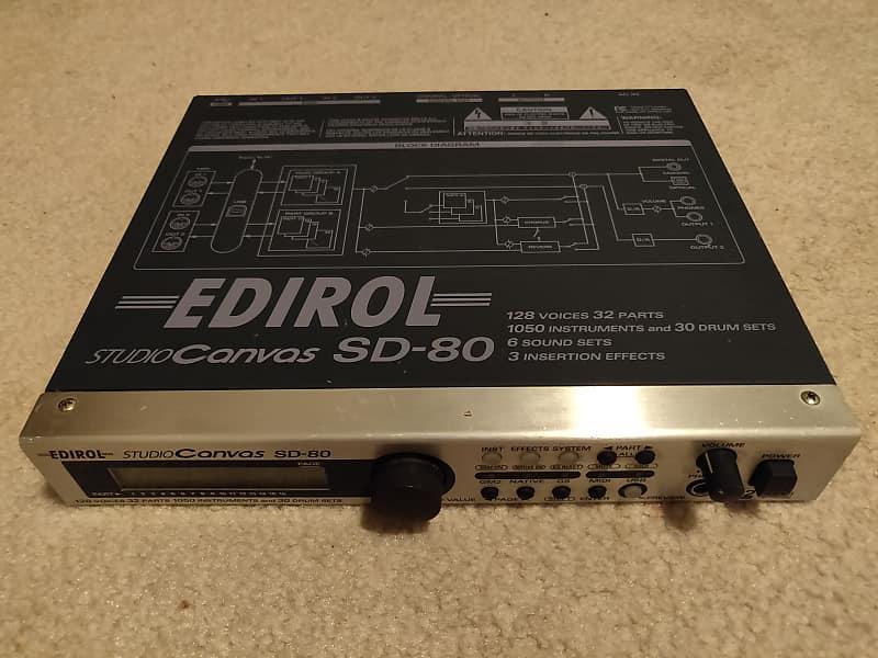 EDIROL SD-80 WINDOWS 10 DRIVER