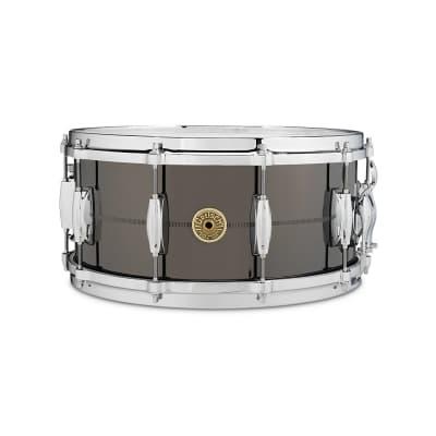 "Gretsch G4164SS USA Solid Steel 6.5x14"" 10-Lug Snare Drum"