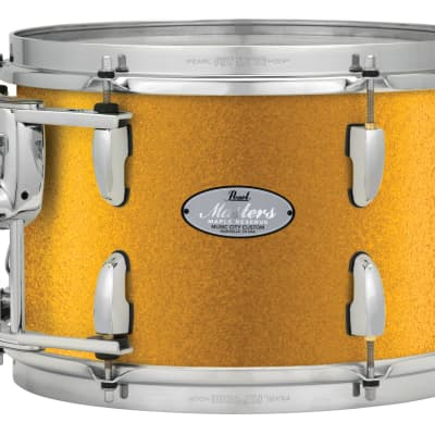 """Pearl Music City Custom 8""""x7"""" Masters Maple Reserve Series Tom Drum w/optimount MRV0807T - Vintage Gold Sparkle"""