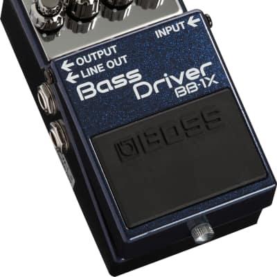 Boss BB-1X Bass Driver Overdrive Distortion Guitar Effects FX Stompbox Pedal