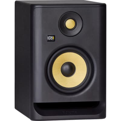 "KRK ROKIT 5 G4 5"" 2-Way Active Studio Monitor (RP5G4, Single, Black, B-Stock)"