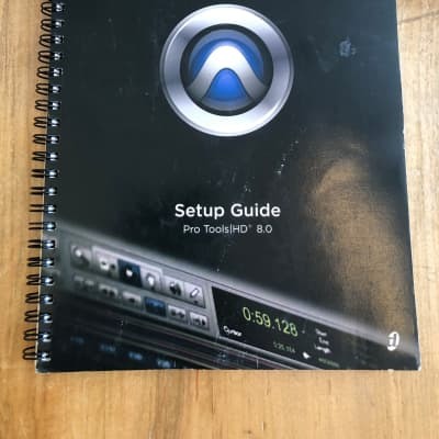Digidesign Pro Tools HD 8.0 Setup Guide