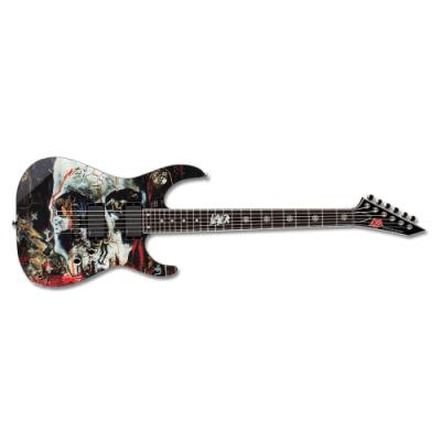 ESP LTD Slayer - 2012 Signature Black with South of Heaven Graphic