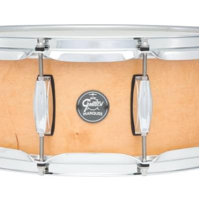 Gretsch Marquee 5.5X14 10 Lug Snare Satin Natural - Liquidation Deal!