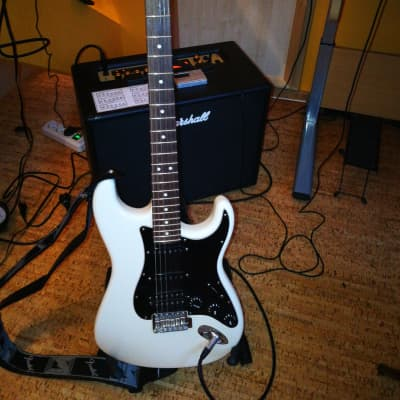 Fender American Special Stratocaster ®HSS  White/Black for sale