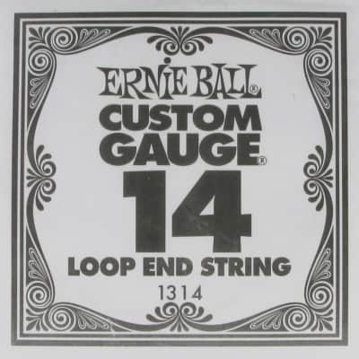 Ernie Ball .014 Loop End Plain Single