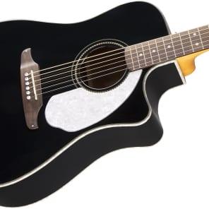 Fender Sonoran SCE Cutaway Dreadnought w/ Electronics Black