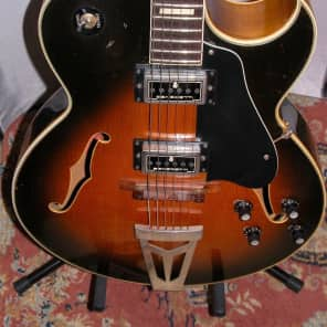 Jacobacci Sacha Distel 1970-72 Sunburst for sale