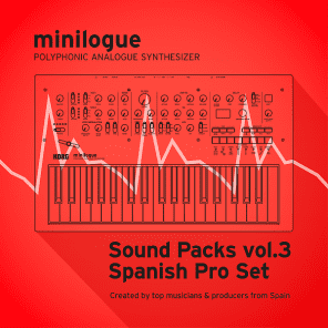 "Korg minilogue/Sound Packs vol.3 ""Spanish Producer Set"""
