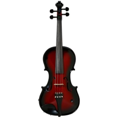 Barcus-Berry Acoustic-Electric Violin - Red Berry Burst