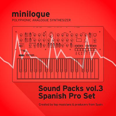 "Korg minilogue/Sound Packs vol.3 ""Spanish Producer Set"""