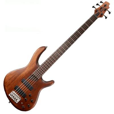 Cort B5 Plus 5 String Bass Active Passive Mahogany Bartolini MK-1 for sale