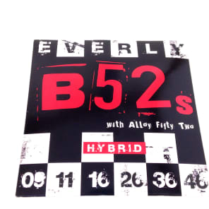 Everly Music 9219 B-52s Ultra Magnetic Electric Guitar Strings - Hybrid (9-46)