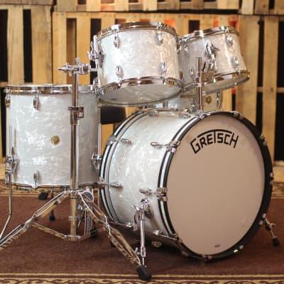 Gretsch Broadkaster 60's Marine Pearl Drum Set - 22/12/13/16/6.5