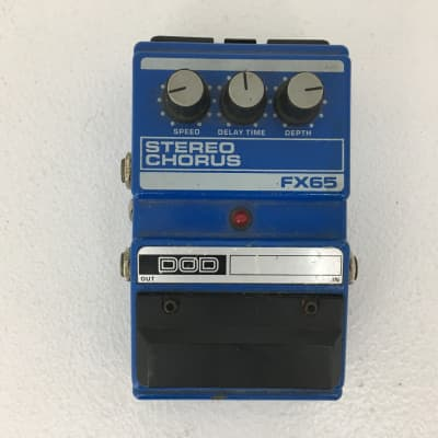 Used DOD FX65 STEREO CHORUS Guitar Effect Pedal for sale