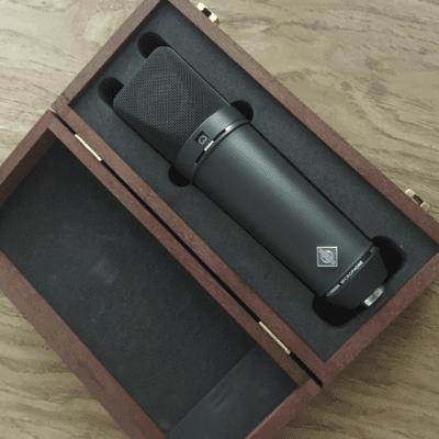 Neumann U 87 Ai mt Large Diaphragm Multipattern Condenser Microphone 1986 - 2020 Matte Black