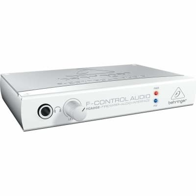 Behringer - FCA202 F- Control Audio - 2 Input 2 Output FireWire Audio Interface