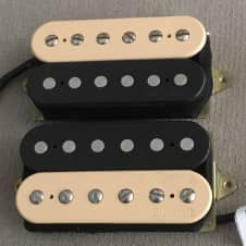DiMarzio Air Classic DP190 Neck / DP191 Bridge Humbucker Set Zebra