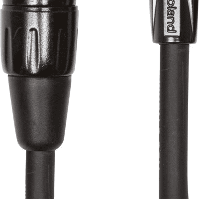 Roland RCC-5-RCXF Black Series Interconnect Cable with XLR Female to RCA, 5ft
