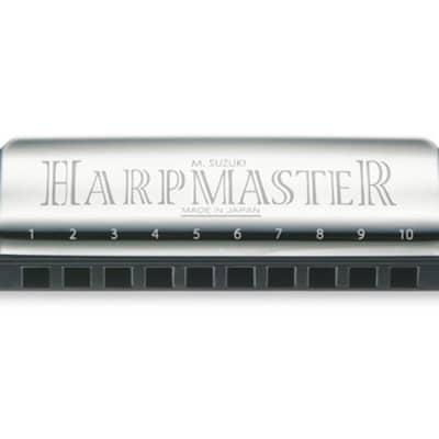 Suzuki SU-MR200 Harp Master Key of F 10-Hole Harmonica MR-200 HarpMaster