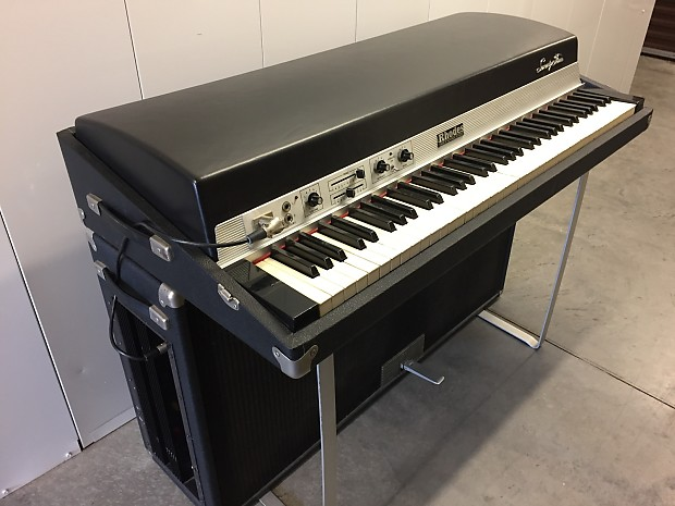 fender rhodes suitcase electric piano signed and played by reverb. Black Bedroom Furniture Sets. Home Design Ideas