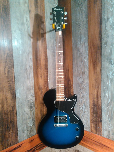Maestro By Gibson Electric Guitar Blue Black Reverb