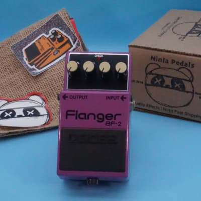 Boss BF-2 Flanger   1997 Orange Label (ACA)   Fast Shipping!