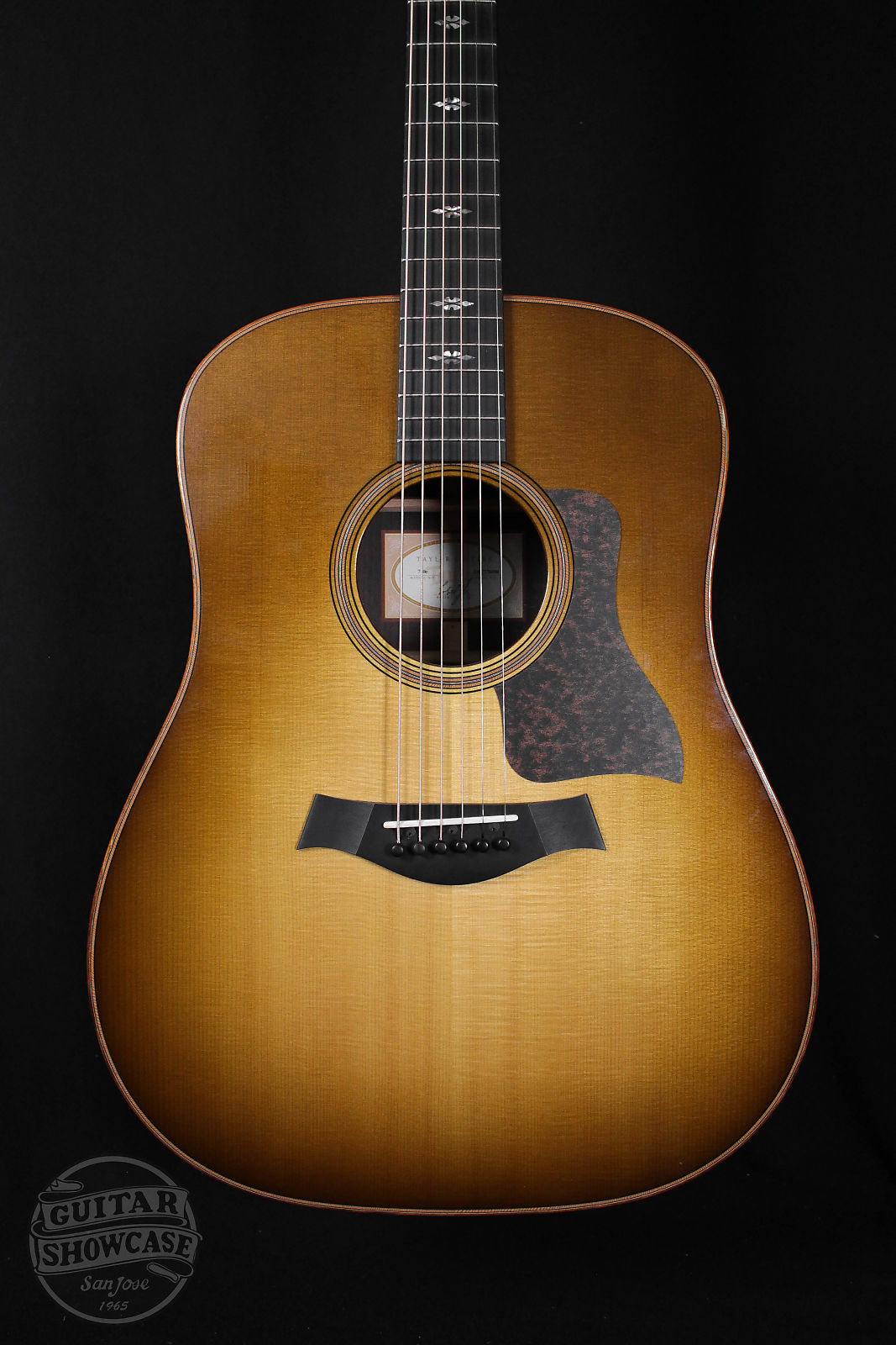 Taylor 2016 710e Dreadnought [Western Sunburst] [Sitka+Rosewood]