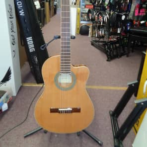 Used Antonio Hermosa AHT-10CE Nylon String Acoustic/Electric Guitar for sale