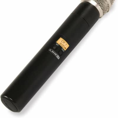 Line 6 12-Channel Handheld Microphone Transmitter - V55-HHTX - New Open Box