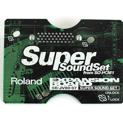 Roland SR-JV80-07 Super Sound Set Expansion Board