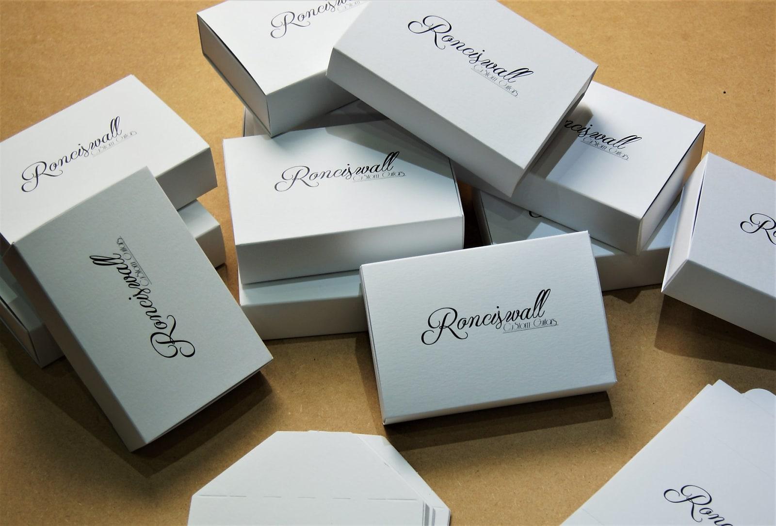 Ronciswall Ceramic Humbucker 6 set - Ebony & Flame Tanganika