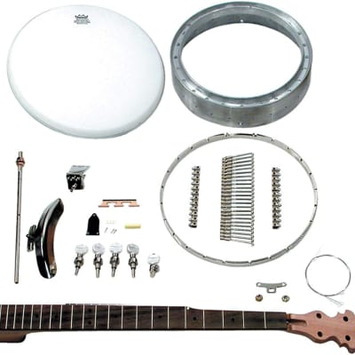 5-String Openback Banjo Kit - Build Your Own Standard Size for sale