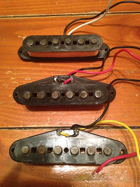 Lollar blackface single coil strat pickups