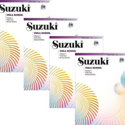 Suzuki Viola School Viola Part & CD, Volume 1 - 4 (Revised)