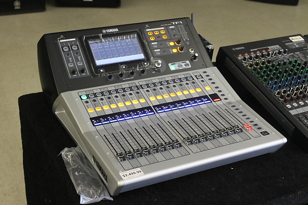 yamaha tf1 touchflow 16 channel 40 input digital mixing reverb. Black Bedroom Furniture Sets. Home Design Ideas