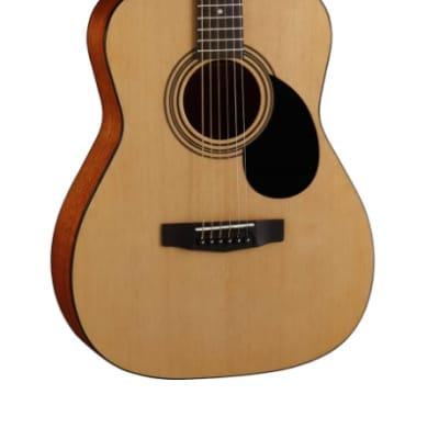 Cort Guitars AF510-OP Concert Acoustic Guitar in Open Pore Natural for sale