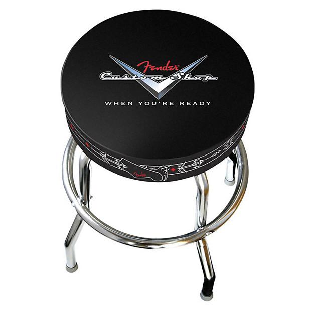 Fender Bar Stool 30 Inch Custom Shop Pinstripe Reverb