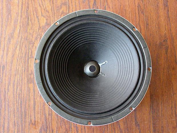 Rola 12 Speaker Alnico Vintage Reconed 8 ohm   Reverb